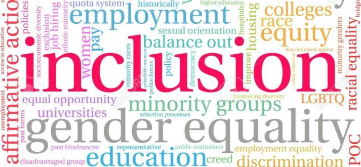 picture of inclusion words